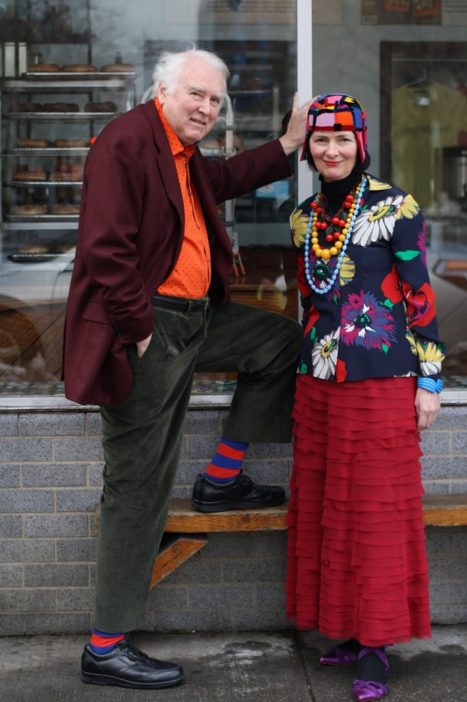 Richard Cramer & Carol Markel from the Advanced Style Blog