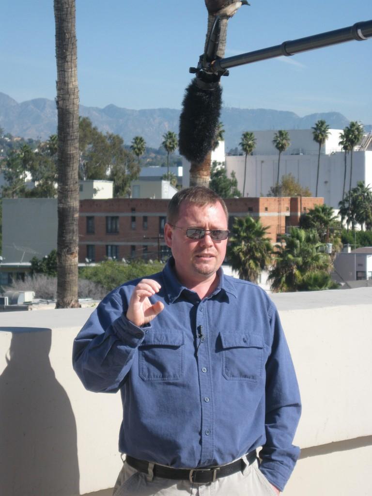 Photo of AMPAS Preservationist Joe Lindner