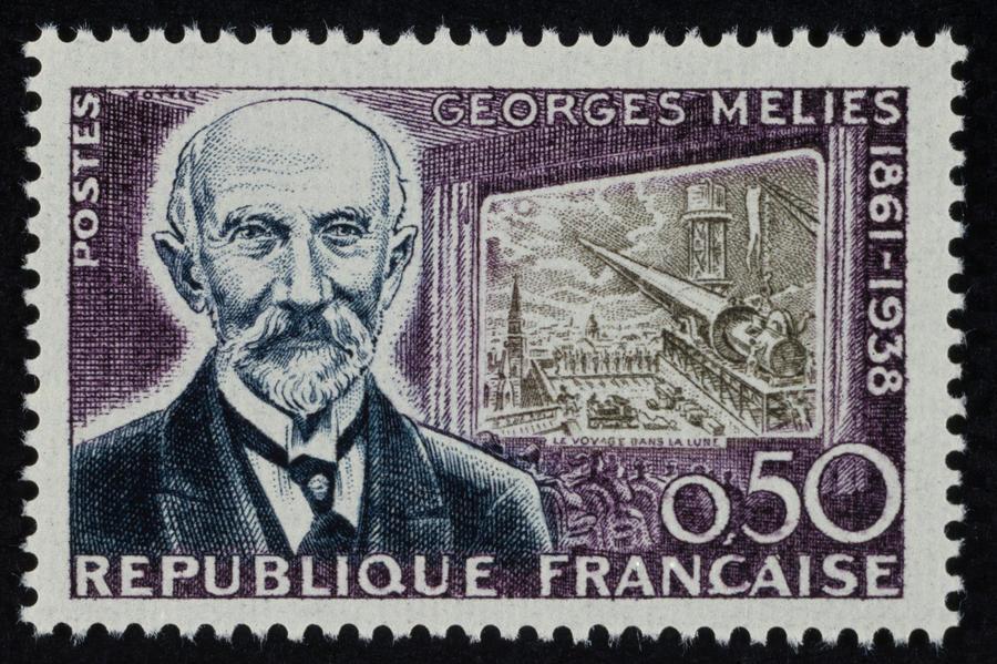 Georges Melies postage stamp