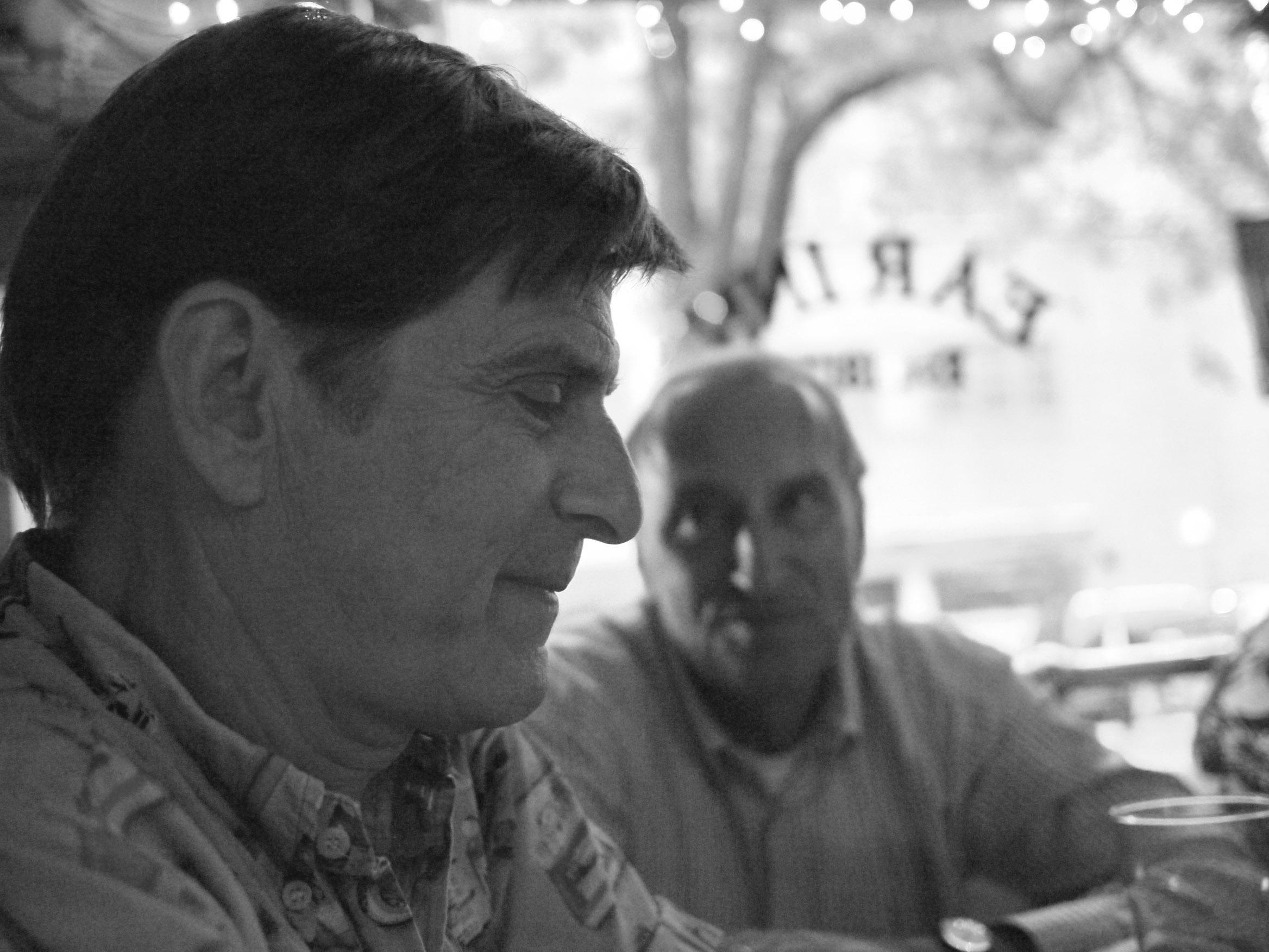 Photo of Paul and Peer at the Ear Inn