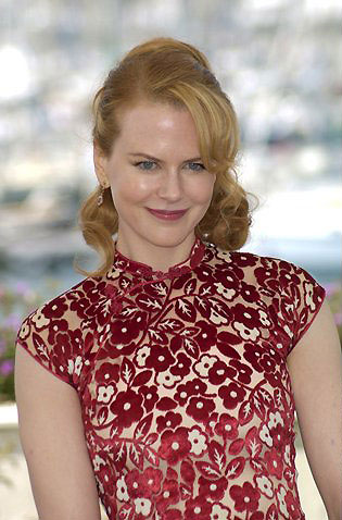 photo of Nicole Kidman in cheongsam