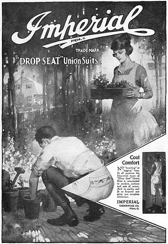 Vintage underwear ad.