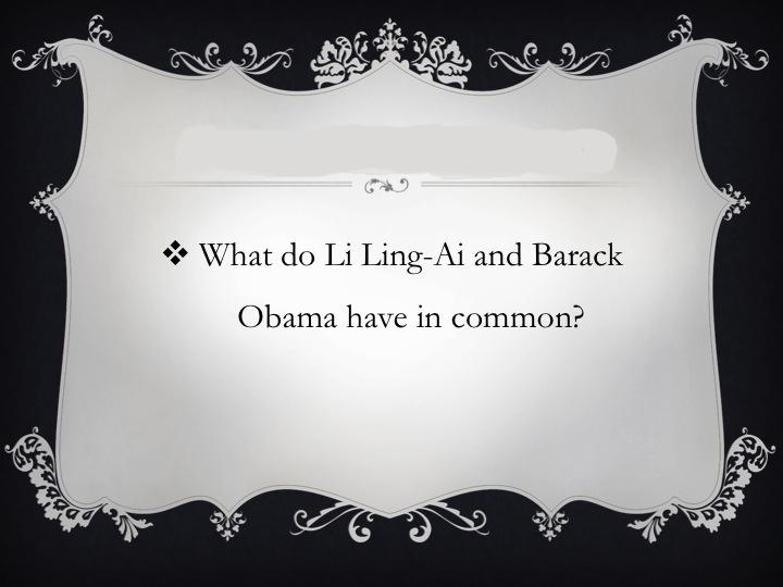 Presidential Trivia Slide 1