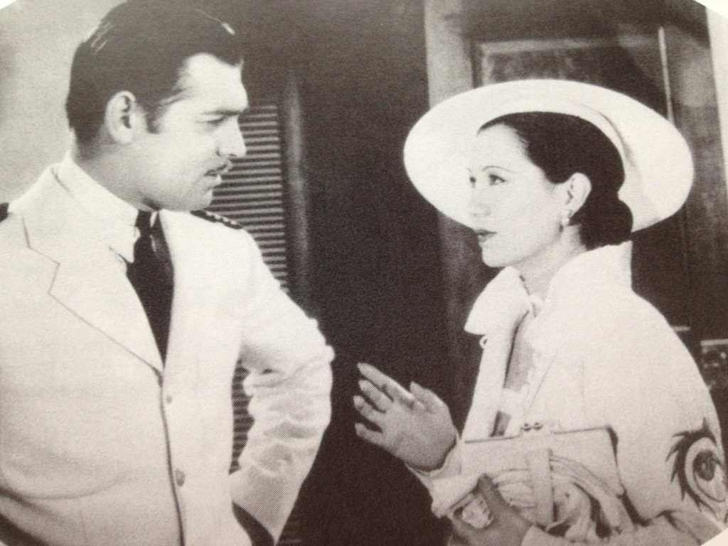 Clark Gable and Soo Yong in The China Seas