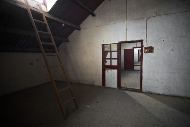 "Second floor room of Shanghai ""comfort women"" house (photo by Louis Au)"
