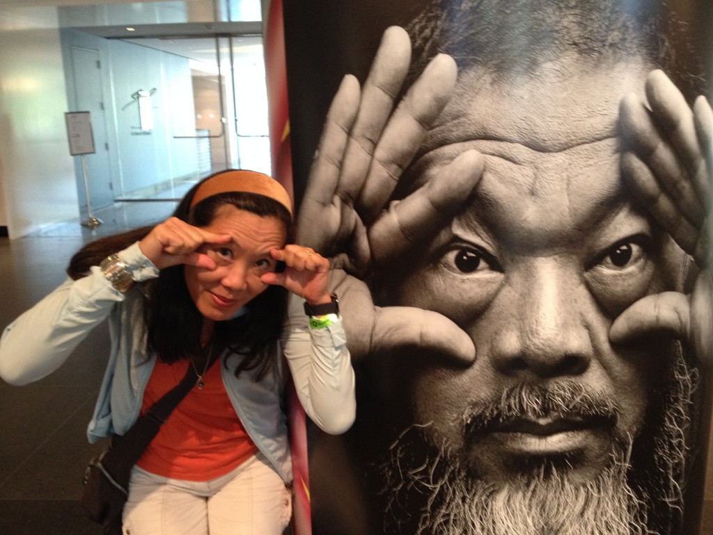 Looking ahead to China in July at the Ai Wei Wei exhibit in Brooklyn