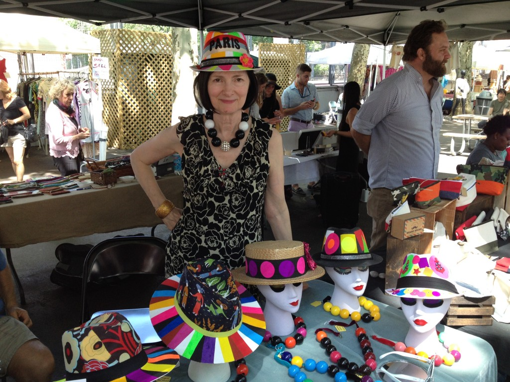 Inspiration from artist, hat designer and jewelry maker Carol Markel