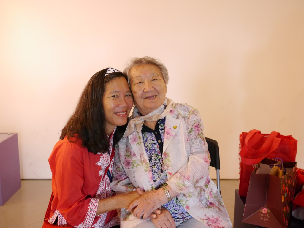 "Grandma Gil, one of the Korean ""comfort women"" we met at the War and Women's Human Rights Museum in Seoul"