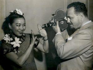 Li Ling-Ai and Rey Scott, 1941