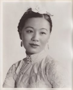 Li Ling-Ai Publicity Photo, Circa 1941