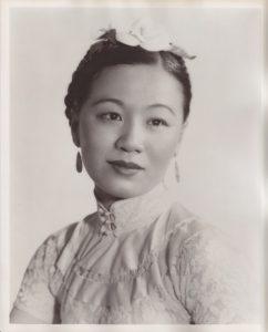 Li Ling-Ai Publicity Photo, Circa 1941